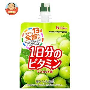 ハウスウェルネス PERFECT VITAMIN(パーフェクトビタミン) 1日分のビタミンゼリー マスカット味 180gパウチ×24本入|misono-support