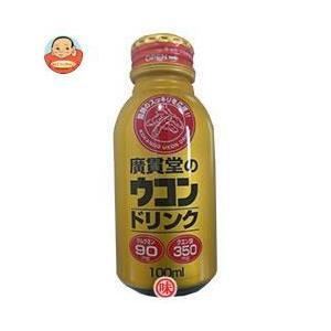 日本薬剤 廣貫堂のウコンドリンク 100mlボトル缶×30(6×5)本入|misono-support