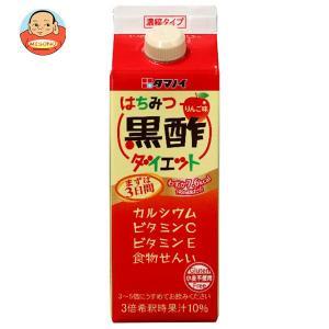 タマノイ はちみつ黒酢ダイエット 濃縮タイプ 500ml紙パック×12本入|misono-support
