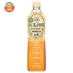 UCC 紅茶の時間 ティーウィズピーチ 低糖 930mlペットボトル×12本入 misono-support