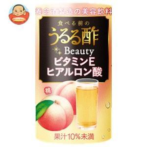 養命酒 食べる前のうるる酢ビューティー 桃味 125mlカートカン×18本入|misono-support