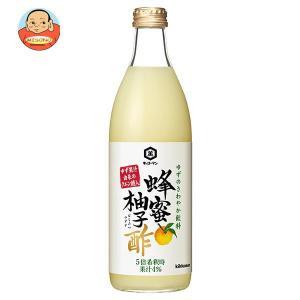 キッコーマン 蜂蜜柚子酢 500ml瓶×6本入|misono-support