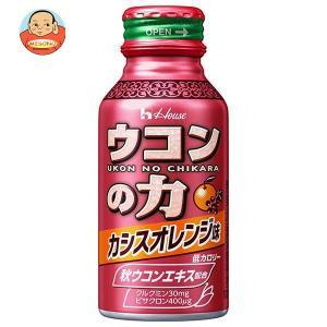 ハウスウェルネス ウコンの力 カシスオレンジ味 100mlボトル缶×60本入|misono-support
