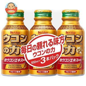 ハウスウェルネス ウコンの力 ウコンエキスドリンク 100mlボトル缶×30(3P×10)本入|misono-support