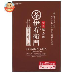 宇治の露製茶 伊右衛門 炒り米入りほうじ茶ティーバッグ 2g×120P×1袋入