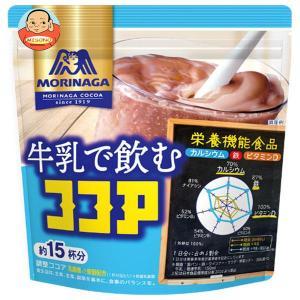 森永製菓 牛乳で飲むココア 200g袋×24(12×2)袋入|misono-support
