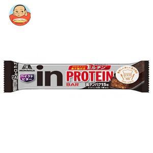 森永製菓 inバー プロテイン ベイクドビター 12本入|misono-support