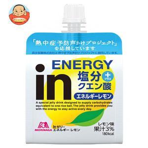 森永製菓 inゼリー エネルギーレモン 180gパウチ×30本入|misono-support