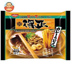 送料無料 【冷凍商品】日清食品冷凍 得正 カレーうどん 1食×12袋入
