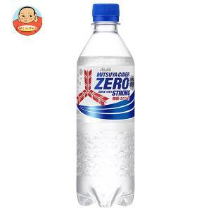 アサヒ飲料 三ツ矢サイダー ゼロストロング 500mlペットボトル×24本入