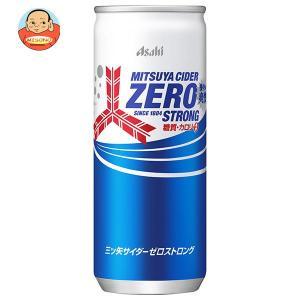 アサヒ飲料 三ツ矢サイダー ゼロストロング 250ml缶×20本入 味園サポート PayPayモール店