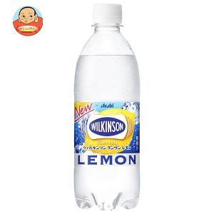 アサヒ飲料 ウィルキンソン タンサン レモン 500mlペットボトル×24本入