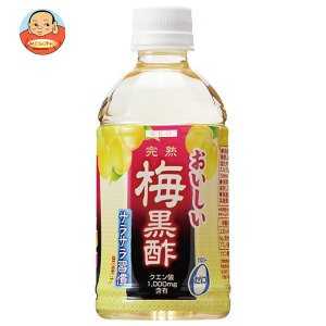 赤穂化成 おいしい梅黒酢 350mlペットボトル×24本入|misono-support