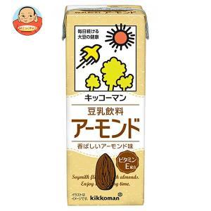 キッコーマン 豆乳飲料 アーモンド 200ml紙パック×18本入