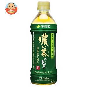 伊藤園 お〜いお茶 濃い茶【自動販売機用】 500mlペットボトル×24本入