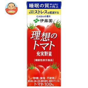 伊藤園 理想のトマト 200ml紙パック×24本入