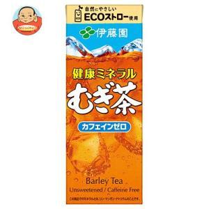 伊藤園 健康ミネラルむぎ茶 250ml紙パック×24本入|misono-support