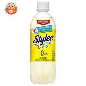 伊藤園 Stylee Sparkling(スタイリー スパークリング) レモン【特定保健用食品 特保】 500mlペットボトル×24本入