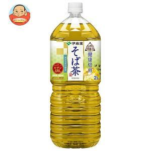 伊藤園 伝承の健康茶 健康焙煎 そば茶 2Lペットボトル×6本入|misono-support