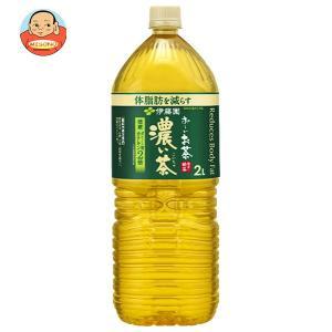 伊藤園 お〜いお茶 濃い茶 2Lペットボトル×6本入
