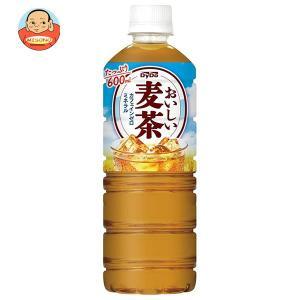 ダイドー おいしい麦茶(ミッフィー) 600mlペットボトル×24本入