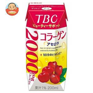 森永乳業 TBC コラーゲン アセロラ(プリズマ容器) 200ml紙パック×24本入|misono-support