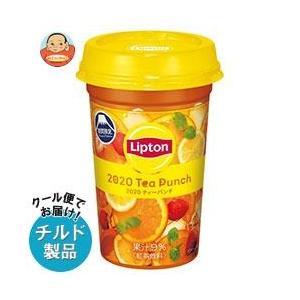 【送料無料】【チルド(冷蔵)商品】森永乳業 リプトン Summer Tea Punch (サマー・ティーパンチ) 240ml×10本入|misono-support