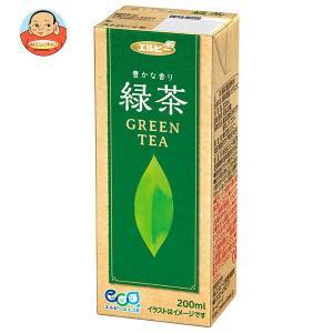 エルビー 緑茶 200ml紙パック×30本入