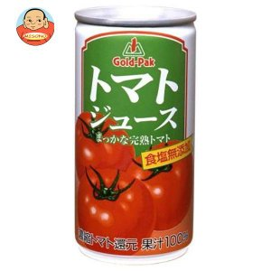 ゴールドパック トマトジュース 無塩(濃縮トマト還元) 190g缶×30本入 味園サポート PayPayモール店