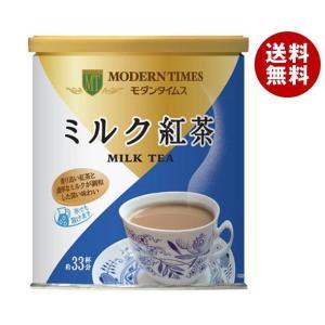 【送料無料】日本ヒルスコーヒー モダンタイムス ミルク紅茶 400g缶×12(6×2)個入|misonoya