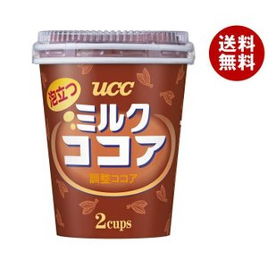 【送料無料】UCC 泡立つ ミルクココア 2P×60個入|misonoya