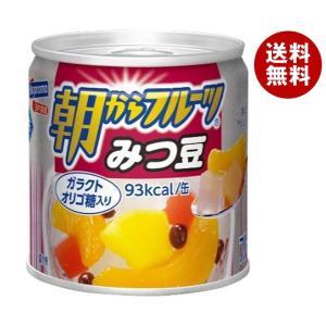 【送料無料】はごろもフーズ 朝からフルーツ みつ豆 190g缶×24個入|misonoya