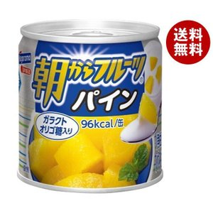 【送料無料】はごろもフーズ 朝からフルーツ パイン 190g缶×24個入