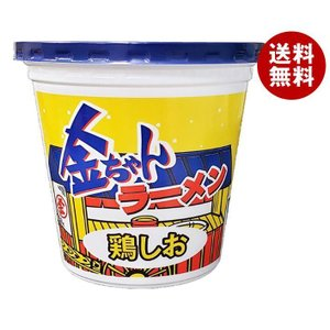 送料無料 徳島製粉 金ちゃんラーメンカップ 鶏しお 73g×12個入