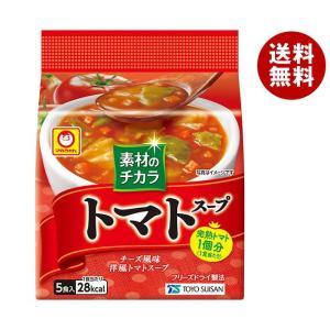 【送料無料】東洋水産 マルちゃん 南欧産トマトスープ (8.4g×5食)×6袋入 misonoya