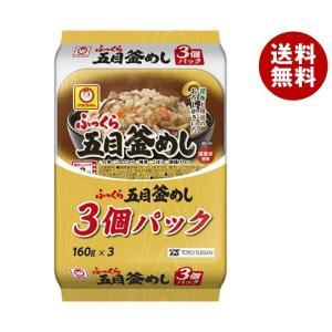 【送料無料】東洋水産 ふっくら 五目釜めし 3個パック (160g×3個)×8個入 misonoya