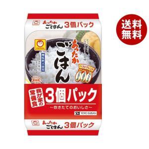 【送料無料】東洋水産 あったかごはん 3個パック (200g×3個)×8個入|misonoya