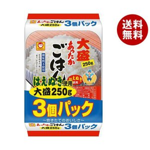 【送料無料】東洋水産 あったかごはん 大盛 3個パック (250g×3個)×8個入|misonoya
