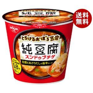 【送料無料】日清食品 純豆腐 スンドゥブチゲスープ 17g×12(6×2)個入 misonoya