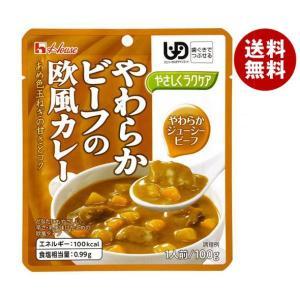 【送料無料】ハウス食品 やさしくラクケア やわらかビーフの欧風カレー 100g×40個入 misonoya
