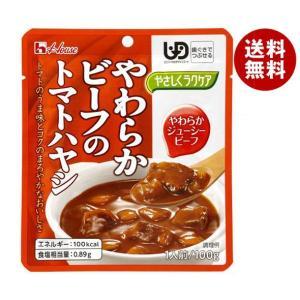 【送料無料】ハウス食品 やさしくラクケア やわらかビーフのトマトハヤシ 100g×40個入 misonoya