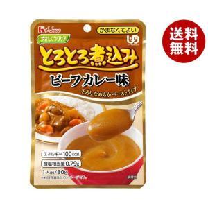 【送料無料】ハウス食品 やさしくラクケア とろとろ煮込みのビーフカレー味 80g×40個入 misonoya