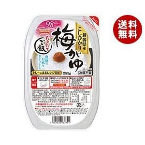 【送料無料】テーブルマーク たきたてご飯 新潟県産こしひかり 梅がゆ 255g×24個入|misonoya