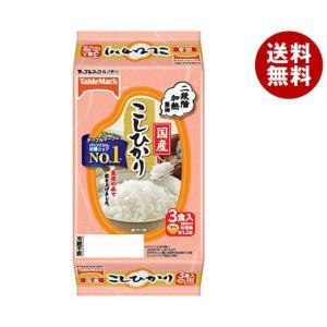 【送料無料】テーブルマーク たきたてご飯 国産こしひかり 3食 (180g×3個)×8個入|misonoya