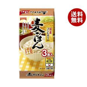 【送料無料】テーブルマーク 麦ごはん 国産コシヒカリ使用 3食 (160g×3個)×8個入|misonoya