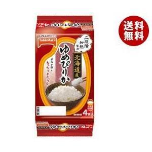 【送料無料】テーブルマーク 北海道産ゆめぴりか (分割) 4食 (150g×2食×2個)×8袋入|misonoya