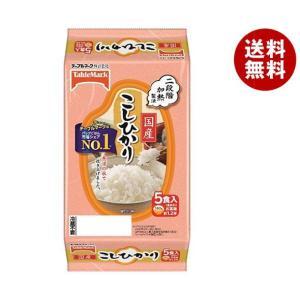 【送料無料】テーブルマーク たきたてご飯 国産コシヒカリ 5食 (180g×5個)×8個入|misonoya