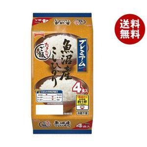 【送料無料】テーブルマーク たきたてご飯 魚沼産こしひかり (分割) 4食 (150g×2食×2個)×8袋入|misonoya
