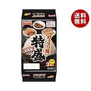 【送料無料】テーブルマーク ガッツリ飯!特盛3食 (300g×3個)×8個入|misonoya