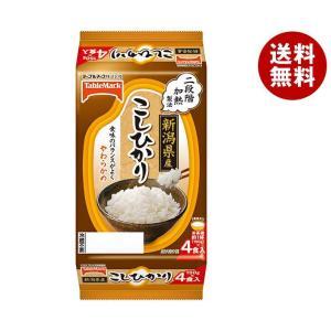 【送料無料】テーブルマーク 新潟県産こしひかり (分割) 4食 (150g×2食×2個)×8袋入|misonoya
